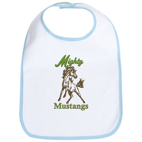 Mighty Mustangs Bib
