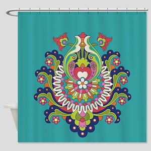 Durga 1 Shower Curtain