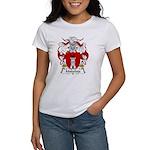 Malafaia Family Crest Women's T-Shirt