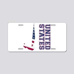 Sailing United States Aluminum License Plate