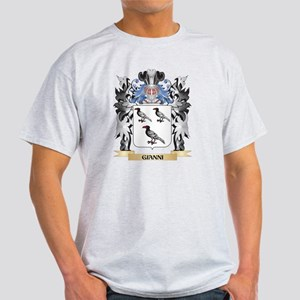 Gianni Coat of Arms - Family Crest T-Shirt