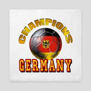Germany Soccer Queen Duvet