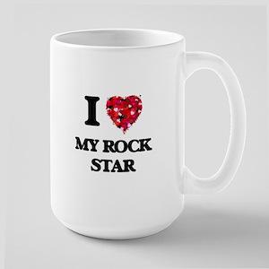 I Love My Rock Star Mugs