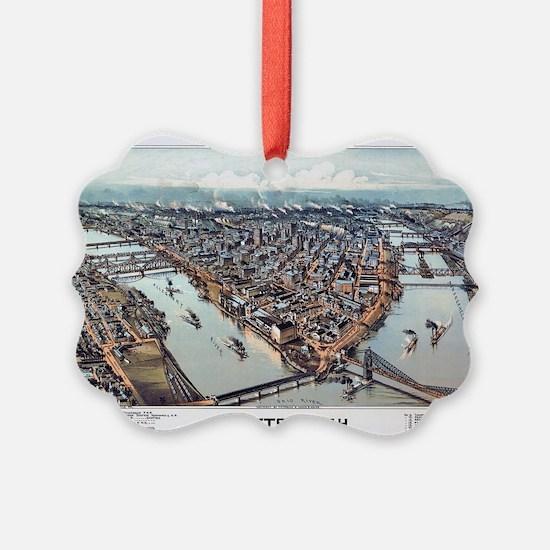 Pittsburgh Pennsylvania 1902 Ornament