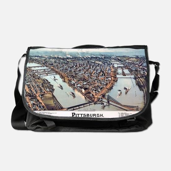 Pittsburgh Pennsylvania 1902 Messenger Bag
