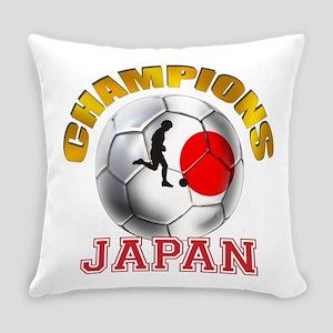 Japanese Soccer Everyday Pillow