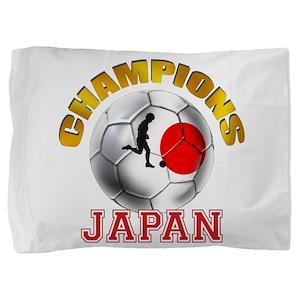 Japanese Soccer Pillow Sham