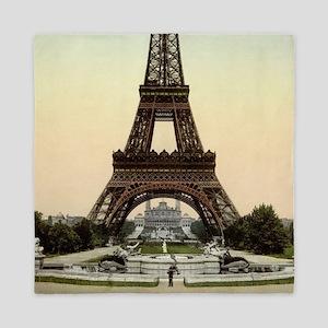 The Eiffel Tower Queen Duvet