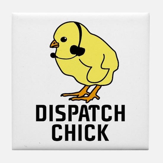 Dispatch Chick Tile Coaster