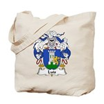 Luis Family Crest Tote Bag