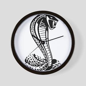 cobra python snake Wall Clock