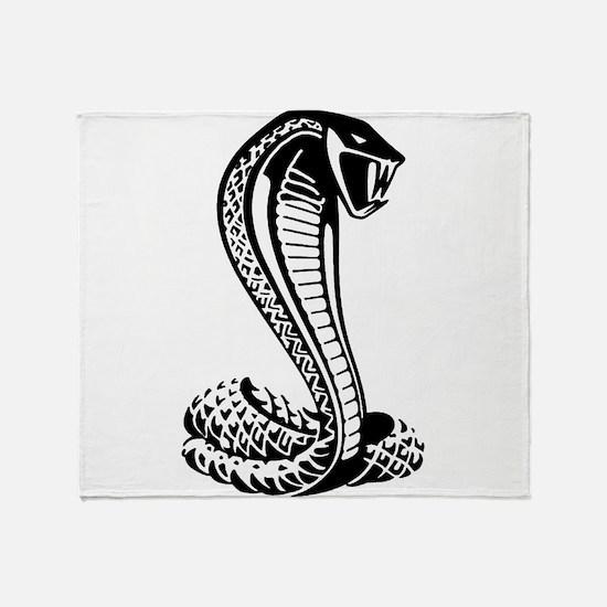 cobra python snake Throw Blanket