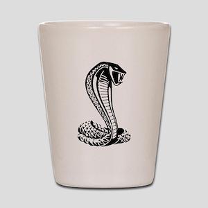 cobra python snake Shot Glass