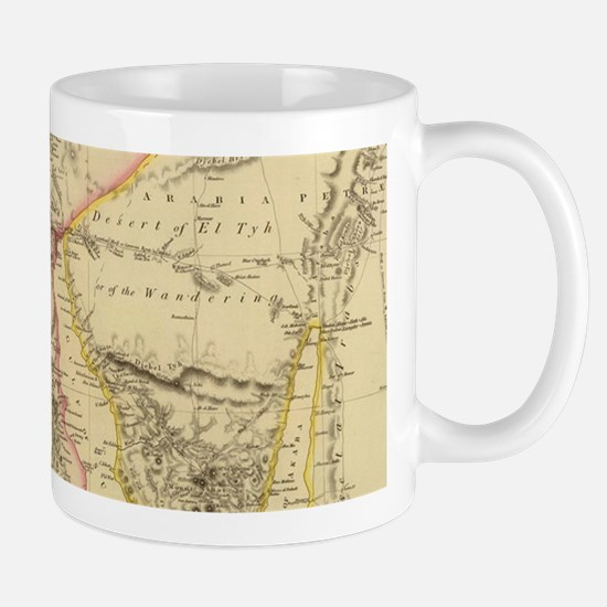 Vintage Map of Egypt (1832) Mugs