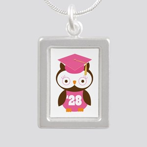 Class of 2028 owl Necklaces