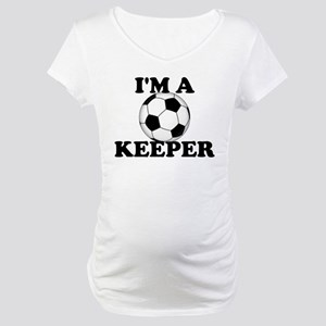 I'm A Keeper Maternity T-Shirt