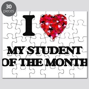 I love My Student Of The Month Puzzle
