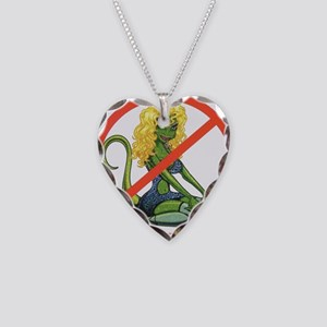No Lot Lizards Necklace Heart Charm