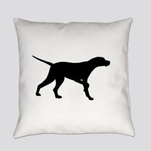 Pointer Dog On Point Everyday Pillow
