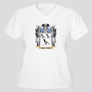 Giovanni Coat of Arms - Family C Plus Size T-Shirt