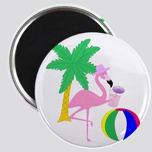 Pink Flamingo Tourist Magnets