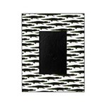 Black Caiman Pattern Picture Frame