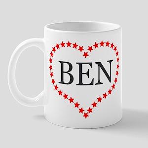 I Love Ben Carson Mugs