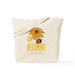 I_am_becoming_Tshirt__transparent Tote Bag