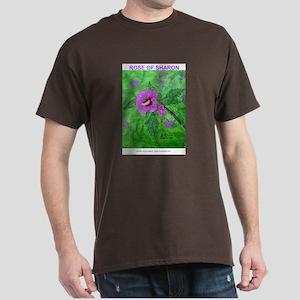 ROSE OF SHARON PAINTING Dark T-Shirt