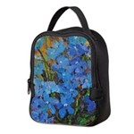 Delphinium Neoprene Lunch Bag
