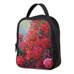 Bougainvillea Neoprene Lunch Bag
