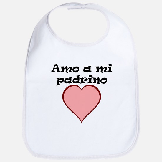 Amo A Mi Padrino Bib
