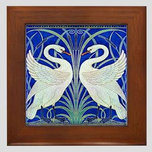The Swans By Walter Crane Framed Tile