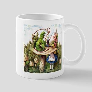 Alice Meets the Caterpillar in Wonderla Mug
