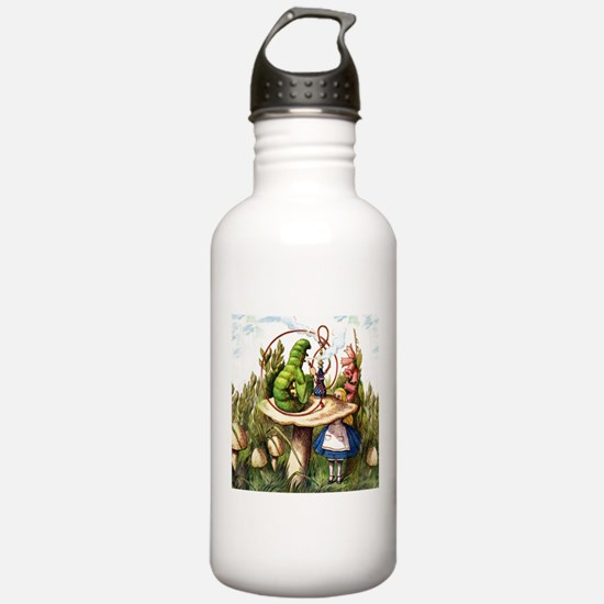 Alice Meets the Caterp Water Bottle