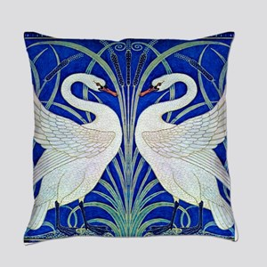 The Swans By Walter Crane Everyday Pillow