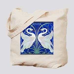 The Swans By Walter Crane Tote Bag