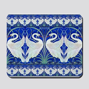 The Swans By Walter Crane Mousepad