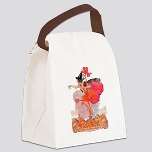 Something Wicked This Way Comes Canvas Lunch Bag