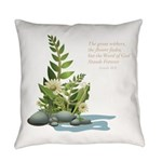 Flowers of Life Everyday Pillow
