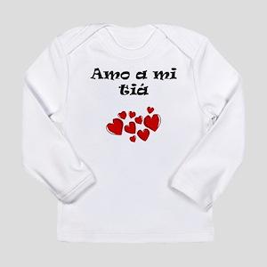 Amo A Mi Tiá Long Sleeve T-Shirt