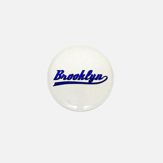 Brooklyn Comic Book Style Mini Button