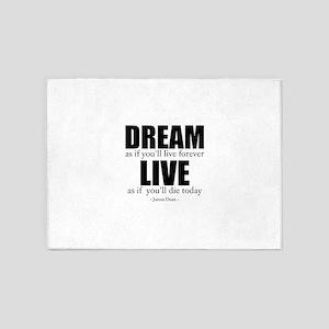 Dream Live 5'x7'Area Rug