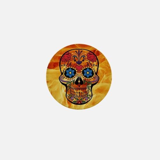 Funny Dark art Mini Button
