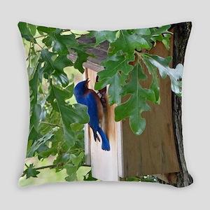 Birdbird at Birdhouse Everyday Pillow