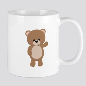 Teddy Bear Waving Mugs