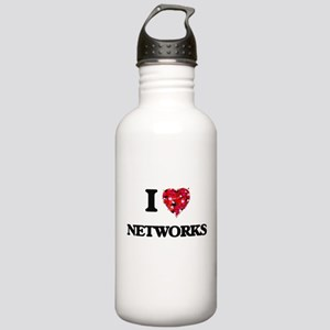 I Love Networks Stainless Water Bottle 1.0L