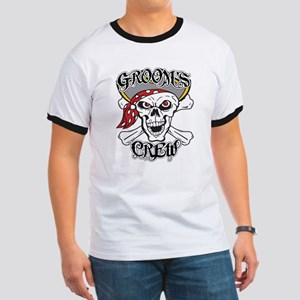 Groom's Pirate Crew Ringer T