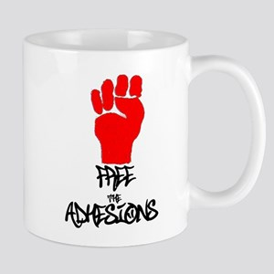 Free The Adhesions T4 Mugs