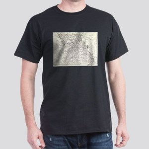 Vintage Map of Missouri (1883) T-Shirt